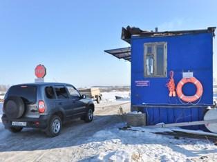 В Удмуртии закрыли одну ледовую переправу