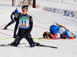 На первенстве России по биатлону команда Удмуртии стала третьей