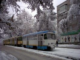 Движение трамваев на улице Ленина в Ижевске парализовано из-за ДТП