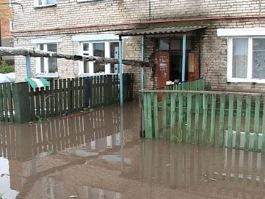 В Ижевске из-за затопления семью переселили в другой дом