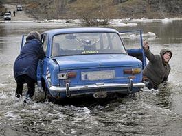 Ситуация с паводком в Ижевске под контролем