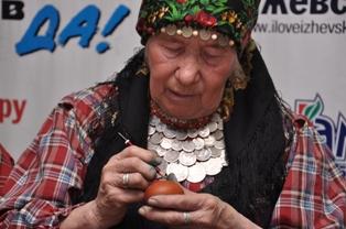 «Бурановские бабушки» готовятся к Пасхе