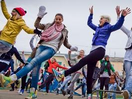 Ижевчан приглашают на массовый танцевальный флешмоб