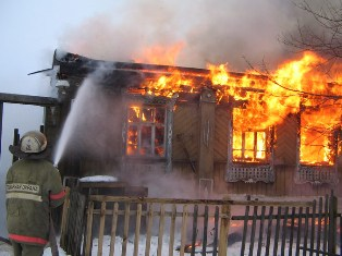В Забайкалье пожар уничтожил почти все село