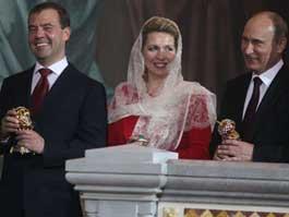 Православный мир встретил Пасху