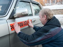 За нелегальные «шашечки» - штраф в 5 000 рублей