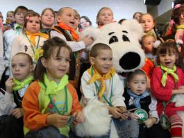 Сбербанк провел благотворительную акцию для детей социально-реабилитационного центра Ижевска