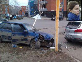 В Ижевске похоронили школьницу, сбитую на тротуаре