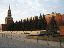 На Красной площади задержали хулигана на скутере