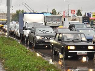 Число автомобилей в Ижевске приближается к 200 000