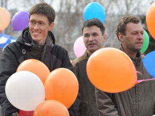 В первомайских гуляниях в Ижевске приняло участие 40 тысяч человек