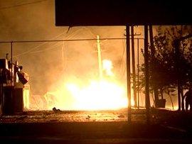 В Махачкале прогремели мощные взрывы, погибли 12 человек