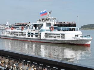 В Ижевске начинает курсировать теплоход до Воложки