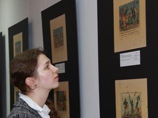 В Ижевске показали исторические «комиксы» о войне 1812 года