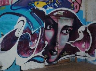 Мастерские Гуманитарного лицея в Ижевске разрисуют граффити
