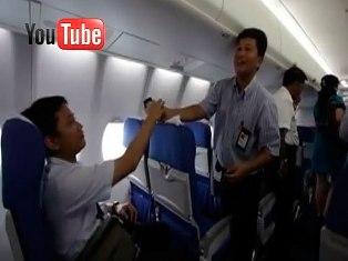 В Сети появилось видео последних минут лайнера Superjet-100