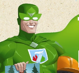 Флешмоб супергероев: ижевчанам расскажут, как вести себя в лесу