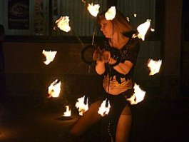 «Ночь в музее» в Ижевске закончилась танцами и огненным шоу