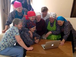 «Ростелеком» провел оптоволокно в село Бураново – на родину «Бурановских бабушек», представляющих Россию на «Евровидении-2012»