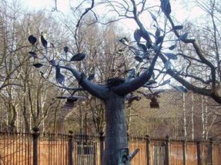 В Ижевске вырастят металлическое дерево