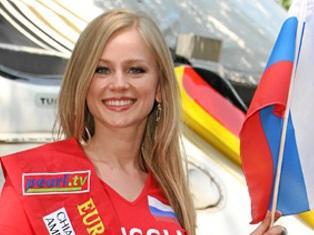 24-летняя россиянка стала «Мисс Евро-2012»