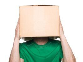 Ижевчанин ограбил ларек с коробкой на голове