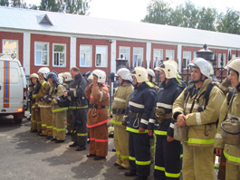 Недавно построенный в Ижевске драмтеатр спасли пожарные