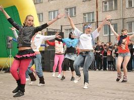 Молодежь планирует подарить Ижевску на День города масштабный танец