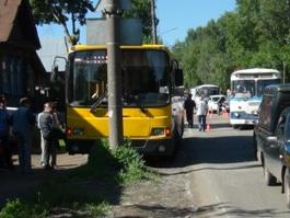 В Ижевске автобус сбил ребенка
