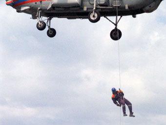 Во время тушения лесного пожара в Туве погибли парашютисты-пожарные