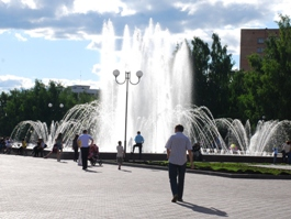Праздничный «марафет» наведут ижевским фонтанам перед Днем города
