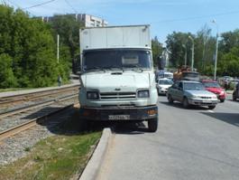 ДТП в Ижевске: на улице Авангардной  большой затор