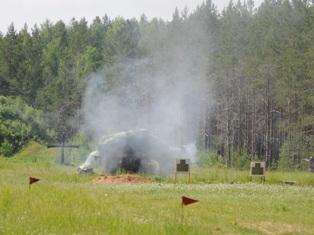 Под Ижевском взорвался вертолет Ми-2