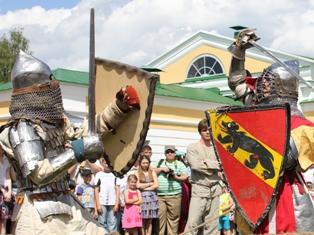 Рыцарские бои в Ижевске: вот это настоящие мужики!