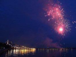 День города в Ижевске: праздник завершился 10-минутным салютом