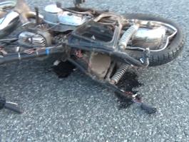 ДТП в Удмуртии: «Нива» сбила мотоциклиста
