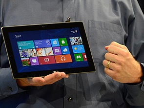 Microsoft представил свой планшет