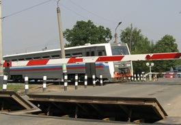 Железнодорожный переезд на улице Азина в Ижевске временно перекроют