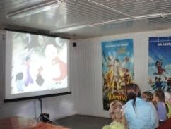 День молодежи в Ижевске: малышне показали бесплатные мультики