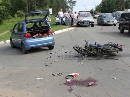 В Ижевске за один день девушки на «матизах» дважды сбивали скутеристов