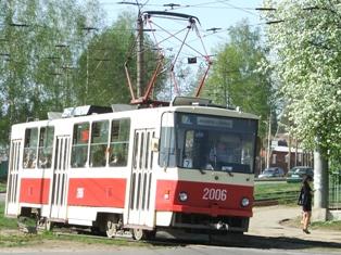 Расписание трамваев появится на остановках в Ижевске