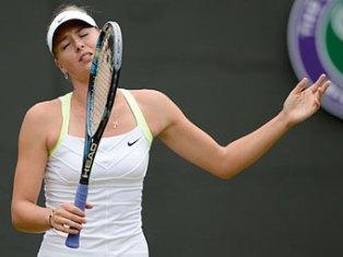 Мария Шарапова потерпела крах на турнире Wimbledon