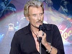 У рок-легенды Джонни Холлидея украли гитару прямо со сцены