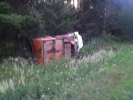 Фура и грузовик столкнулись лоб в лоб в Удмуртии