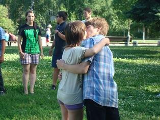 Ижевские подростки целовались на протяжении трех часов