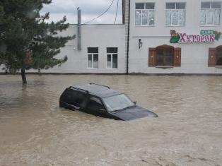 Почти 200 жителей Удмуртии оказались в эпицентре наводнения в Краснодарском крае