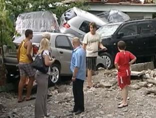 В Краснодарском крае, пострадавшем от наводнения, восстановлено движение поездов