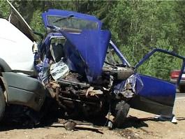 Женщина-водитель погибла в Удмуртии, нарушив правила дорожного движения