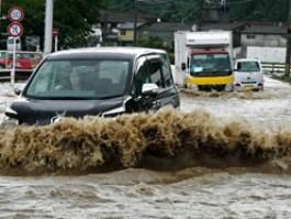 Ливни затопили Японию и Китай: десятки жертв