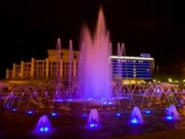 Камеры видеонаблюдения подскажут, кто обокрал главный фонтан Ижевска